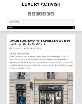 160921_Boutique IOMA_Luxury activist_pagedegarde