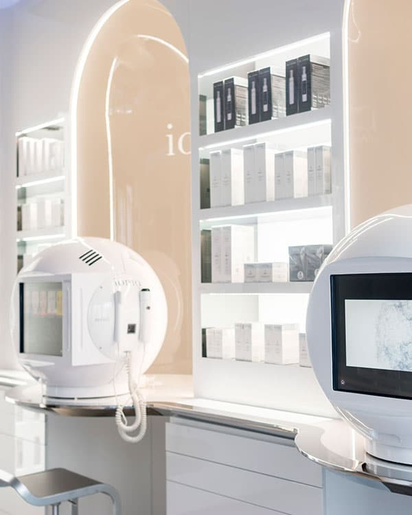 appareils diagnostic peau